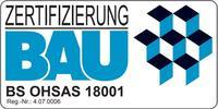 Zertifizierung BAU BS OHSAS 18001