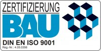 Zertifizierung BAU DIN EN ISO 9001